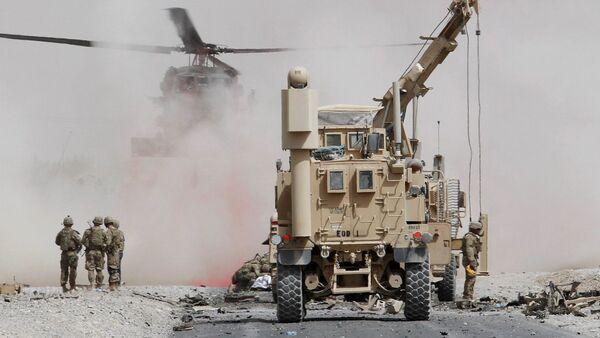 Afganistan / Kandahar'da NATO konvoyuna intihar saldırısı - Sputnik Türkiye