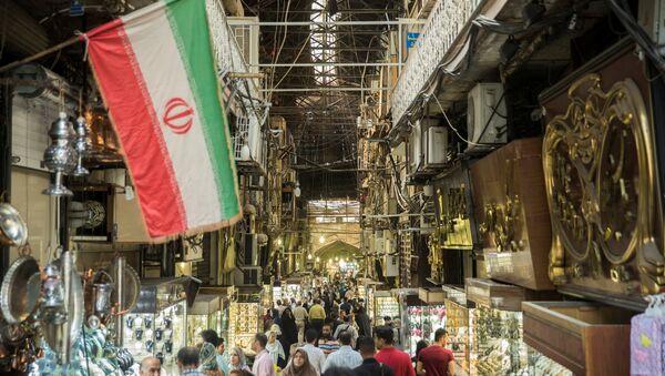 İran / Tahran'daki Kapalı Çarşı - Sputnik Türkiye