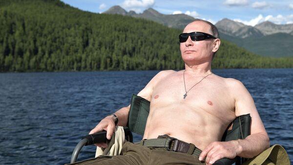 Rusya Devlet Başkanı Vladimir Putin- Tuva - Sputnik Türkiye
