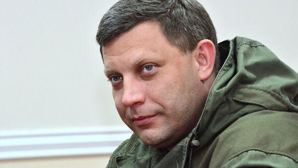 Donetsk Halk Cumhuriyeti'nin lideri Aleksandr Zaharçenko - Sputnik Türkiye