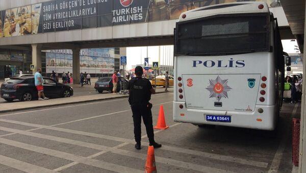 Sabiha Gökçen Havalimanı / polis - Sputnik Türkiye