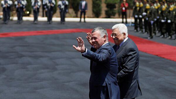 Ürdün Kralı 2. Abdullah ve Filistin Devlet Başkanı Mahmud Abbas - Sputnik Türkiye