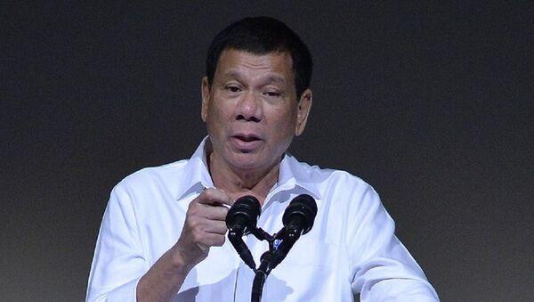 Filipinler Devlet Başkanı Duterte - Sputnik Türkiye