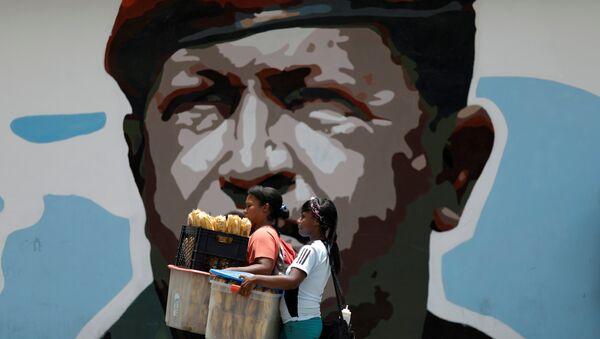 Hugo Chavez-Venezüella - Sputnik Türkiye