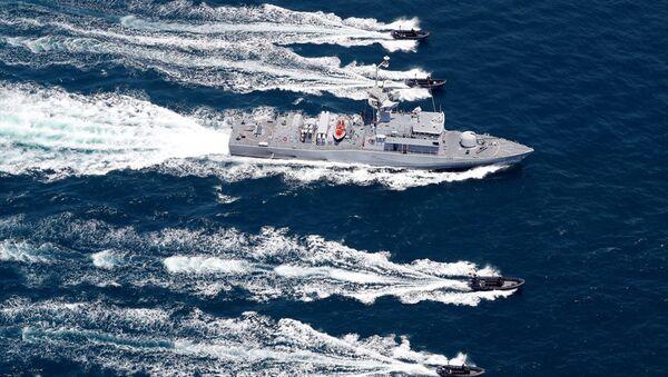 Türkiye ile Katar arasındaki deniz tatbikatı - Sputnik Türkiye