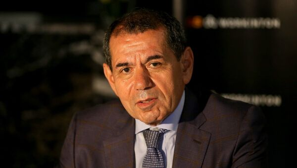 Galatasaray Kulubü Başkanı Dursun Özbek - Sputnik Türkiye