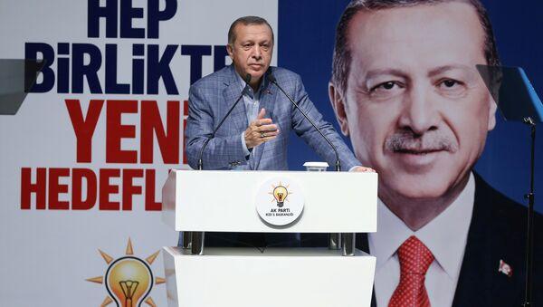 Cumhurbaşkanı Recep Tayyip Erdoğan / AK Parti - Sputnik Türkiye