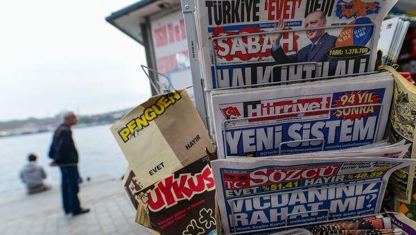 Gazete standı - Sputnik Türkiye