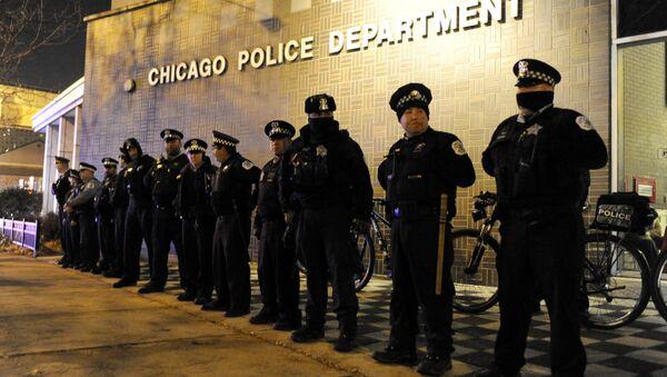 ABD - Chicago - polis - Sputnik Türkiye