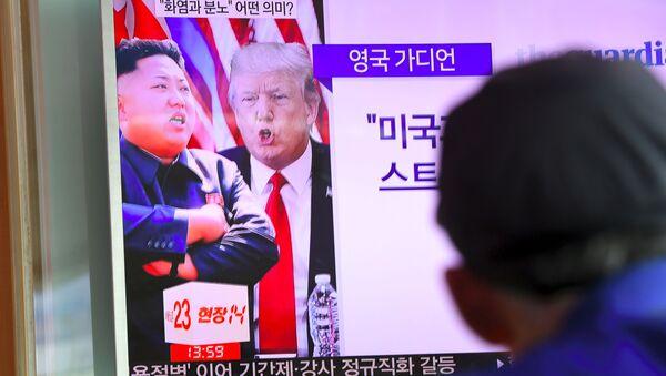 Kuzey Kore ile ABD arasında füze gerginliği - Sputnik Türkiye