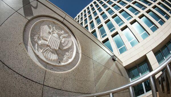 ABD büyükelçiliği / Havana Küba - Sputnik Türkiye