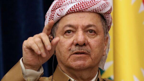 IKBY Başkanı Mesud Barzani - Sputnik Türkiye