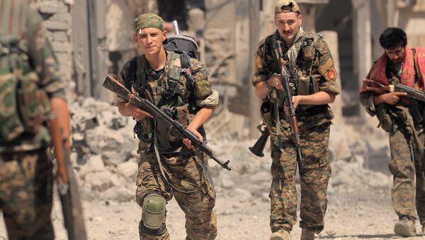 Demokratik Suriye Güçleri, Rakka - Sputnik Türkiye