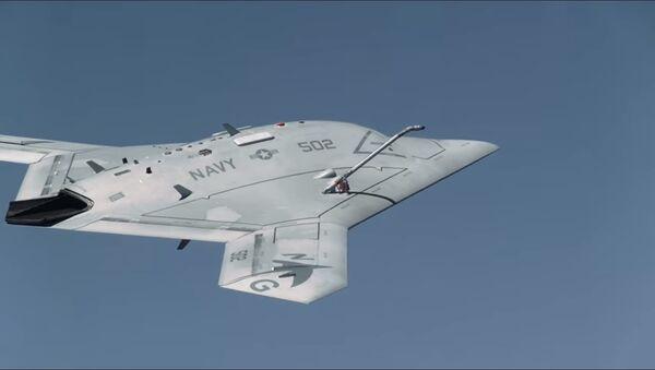İnsansız hava tankerinin fotoğrafları yayınlandı - Sputnik Türkiye