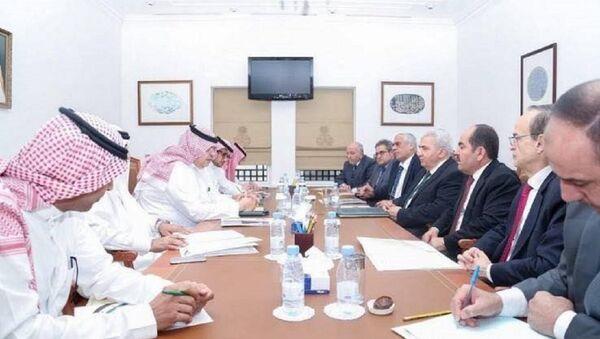 Suriye Muhalif ve Devrimci Güçler Ulusal Koalisyonu (SMDK) Suudi Arabistan'da - Sputnik Türkiye