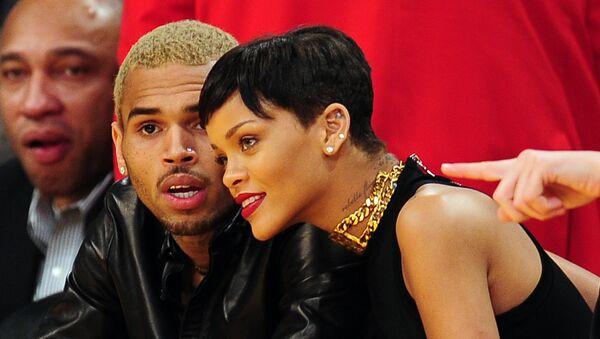 Chris Brown, Rihanna - Sputnik Türkiye