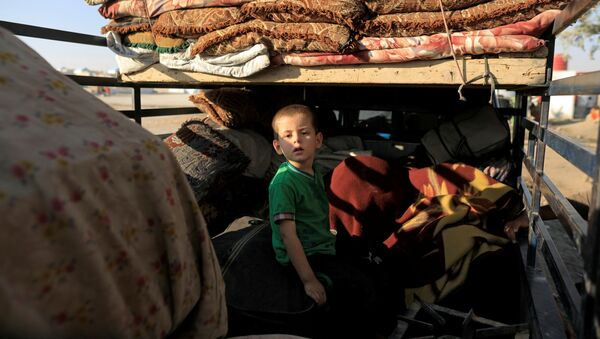 Suriye'li çocukların hayatı - Sputnik Türkiye