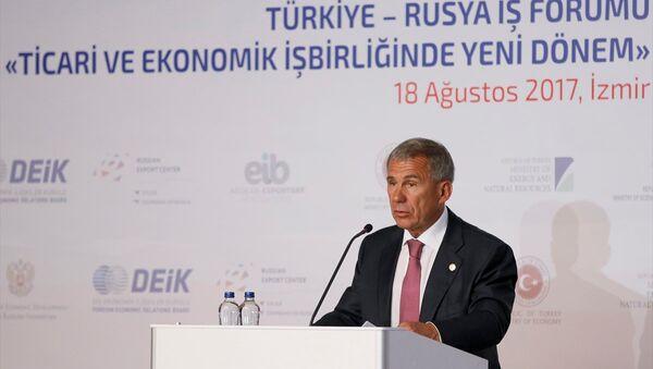 Tataristan Cumhurbaşkanı Rustam Minnihanov - Sputnik Türkiye