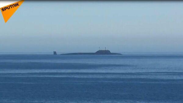 Rus nükleer denizaltısı Severodvinsk, Kalibr füzesini başarıyla test etti - Sputnik Türkiye