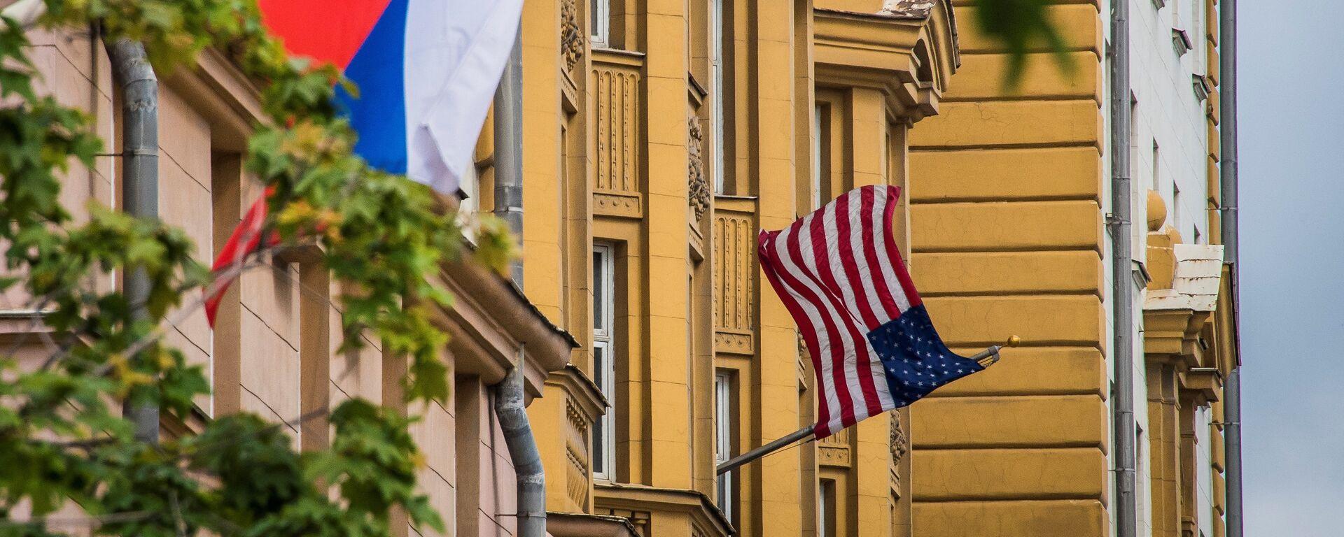 Rusya - ABD Bayrakları - Sputnik Türkiye, 1920, 07.07.2021
