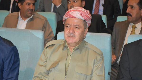 Irak Bölgesel Kürt Yönetimi (IKBY) Başkanı Mesud Barzani - Sputnik Türkiye