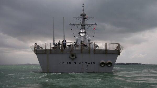 USS John McCain - Sputnik Türkiye