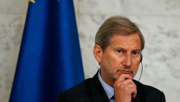 Genişlemeden sorumlu Avrupa Komisyonu üyesi Johannes Hahn - Sputnik Türkiye