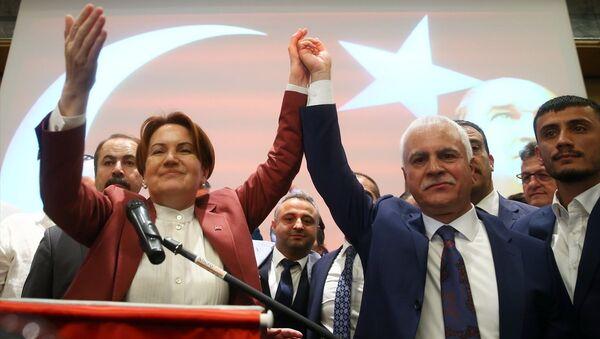 Koray Aydın - Meral Akşener - Sputnik Türkiye