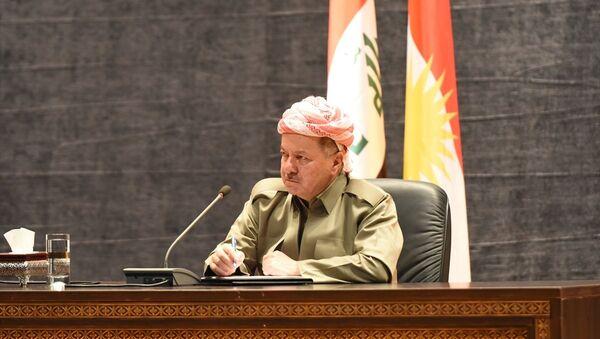 Irak Kürt Bölgesel Yönetimi (IKBY) Başkanı Mesud Barzani - Sputnik Türkiye