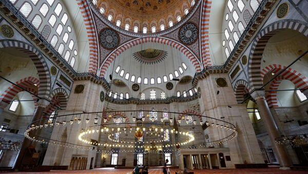 Süleymaniye Camii - cami - Müslüman - İslam - Sputnik Türkiye