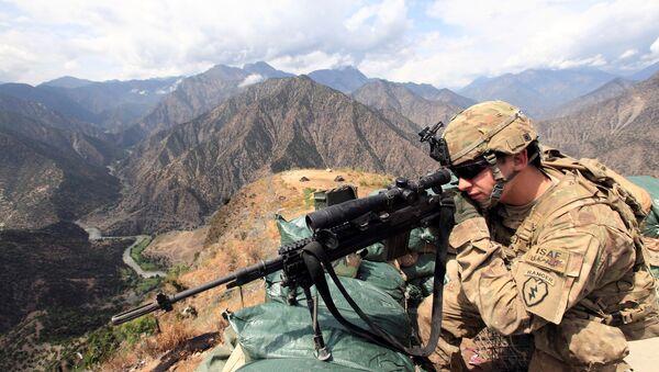Afganistan'da ABD askeri - Sputnik Türkiye