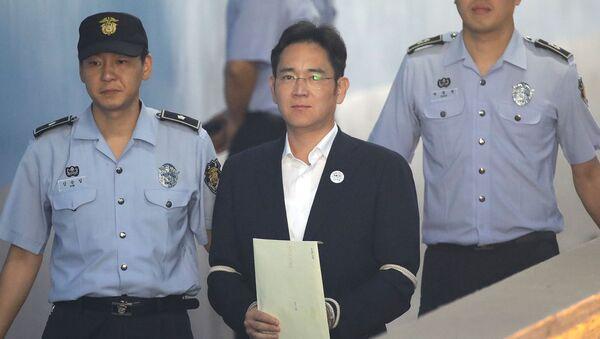 Samsung'un Başkan Yardımcısı ve veliahtı Lee Jae-yong - Sputnik Türkiye