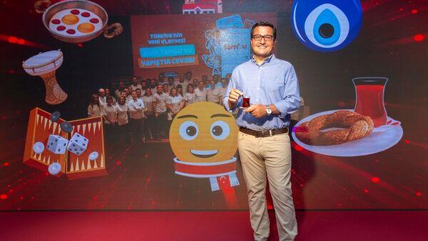 Dijital klavye TAMBU, Türk Telekom Dijital Servisler Başkanı Ramazan Demir - Sputnik Türkiye