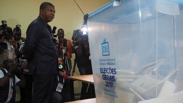 Angola başkanlık seçimleri - Joao Lourenco - Sputnik Türkiye