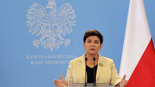 Polonya Başbakanı Beata Szydlo - Sputnik Türkiye