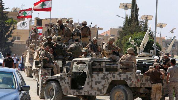 Lübnan ordusu - Sputnik Türkiye