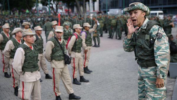 Venezüella askeri tatbikat başlattı - Sputnik Türkiye