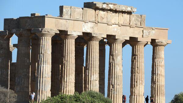 Antik Yunan tapınağı - Sputnik Türkiye