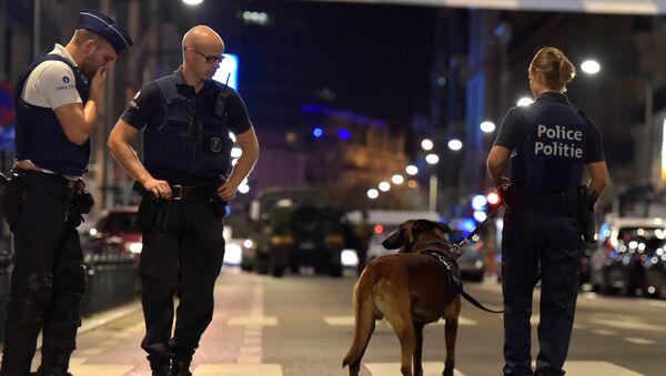 Belçika polisi, Brüksel - Sputnik Türkiye