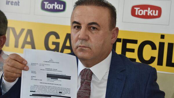 Atiker Konyaspor Başkan Yardımcısı ve Basın Sözcüsü Ahmet Baydar - Sputnik Türkiye