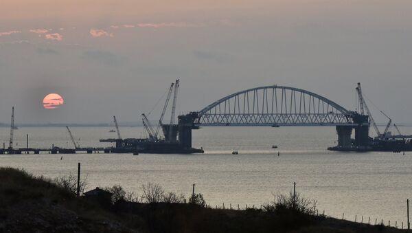 Kerç Köprüsü (Kırım Köprüsü) - Sputnik Türkiye