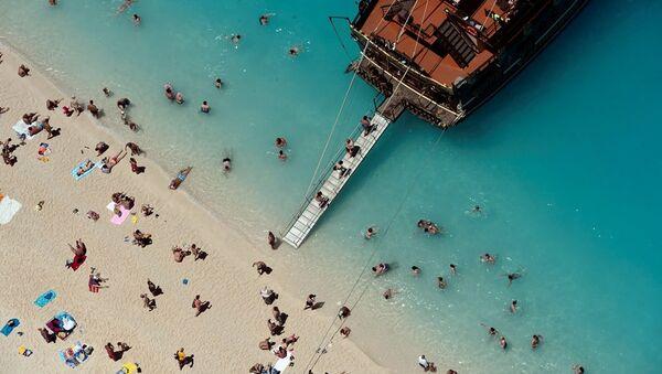 Yunan adası - tatil - Sputnik Türkiye