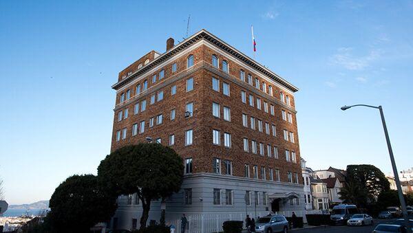 Rusya'nın ABD'denin San Fransisco kentindeki diplomatik binası - Sputnik Türkiye
