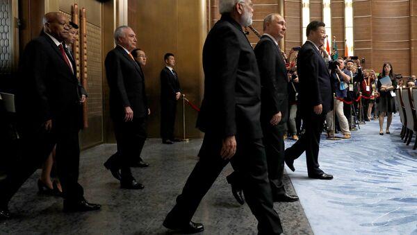 BRICS liderleri - Sputnik Türkiye