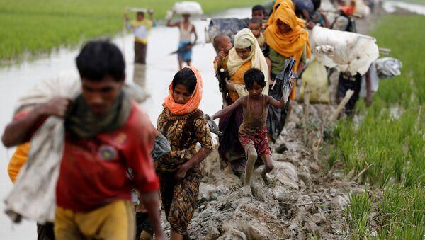 Myanmar ordusu, sivil ölümleri ve evlerin yakılmasından Arakanlı Müslüman militanları sorumlu tutarken, bölgedeki insan hakları aktivistleri Bangledeş'e ulaşan sivillerin kendilerine ordunun saldırdığını söylediğini aktarıyor. Bangladeşli yetkililer ayrıca iki ülke arasındaki Naf Nehri'nden ve denizden 53 Arakanlı'nın cesedini çıkardıklarını, sınırı geçmek isterken boğulmuş olanların sayısının daha yüksek olabileceğinden şüphelendiklerini açıkladı. - Sputnik Türkiye