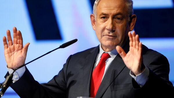 İsrail Başbakanı Benyamin Netanyahu - Sputnik Türkiye