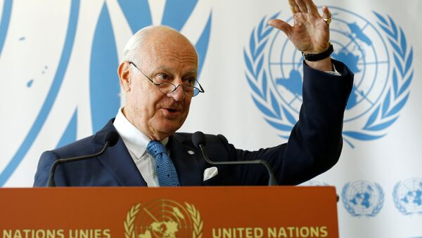 Birleşmiş Milletler (BM) Suriye Özel Temsilcisi Staffan De Mistura - Sputnik Türkiye