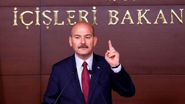 İçişleri Bakanı Süleyman Süleyman Soylu - Sputnik Türkiye