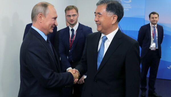 Rusya - Çin - Doğu Ekonomik Forumu - Sputnik Türkiye