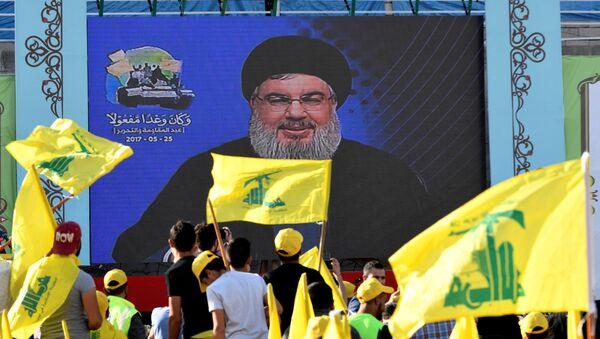 Hizbullah Genel Sekreteri Hasan Nasrallah - Sputnik Türkiye